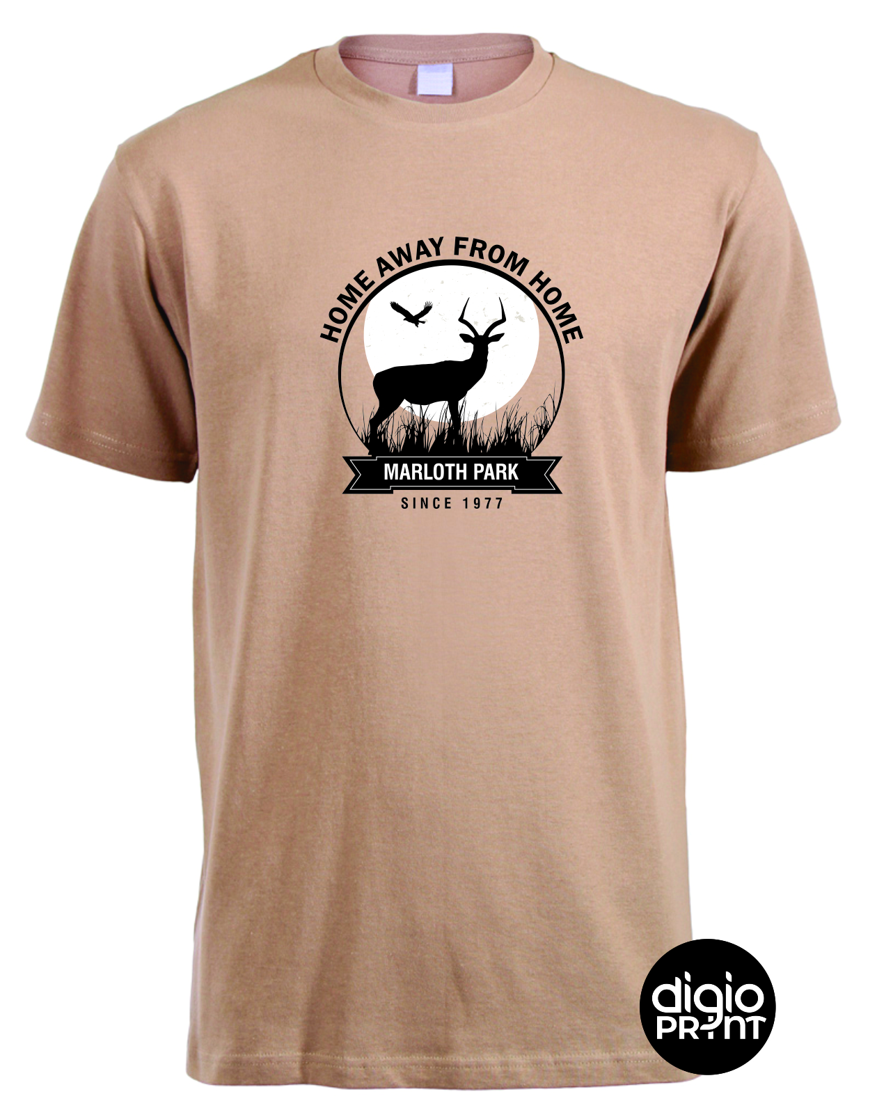 Marloth Park Home Away from Home Stone T-Shirt