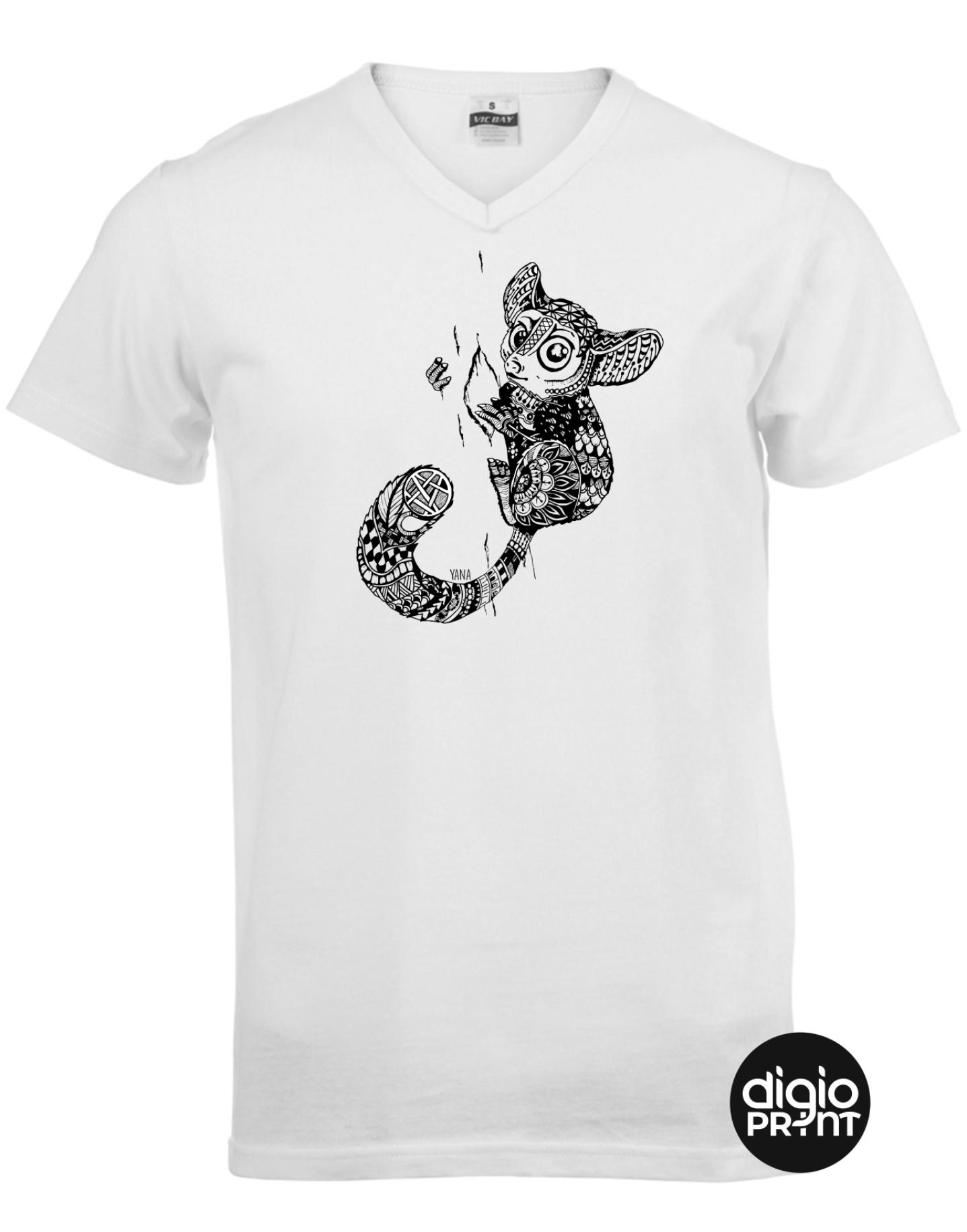 Yana bush baby V-Neck T-shirt