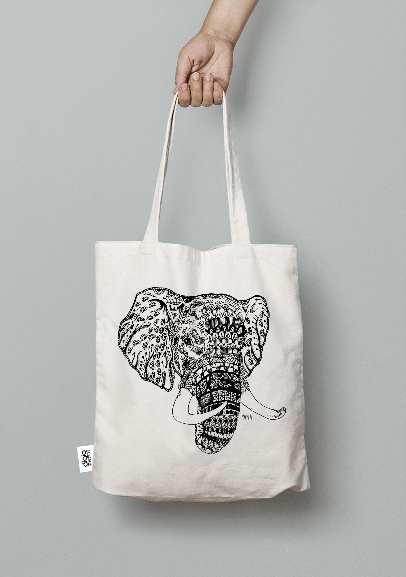 Yana Elephant Tote