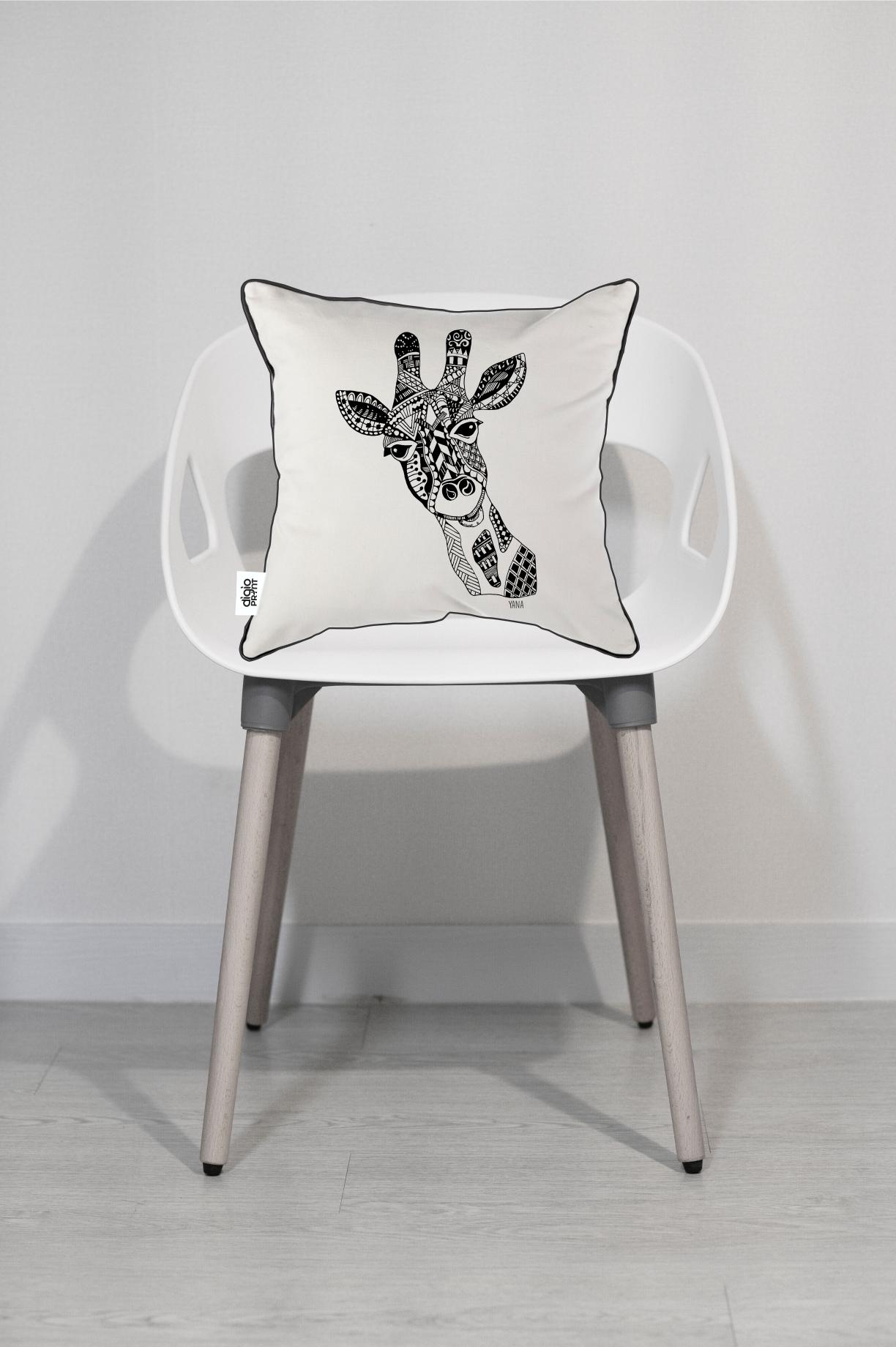 Yana Giraffe Cushion