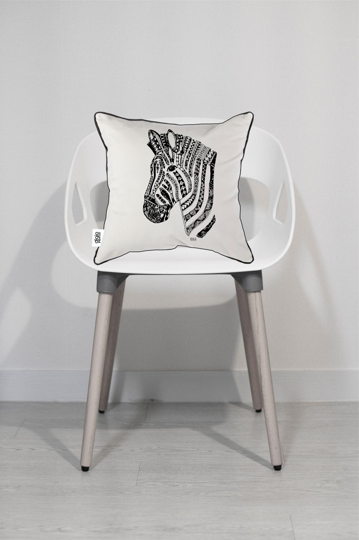 Yana Zebra Cushion