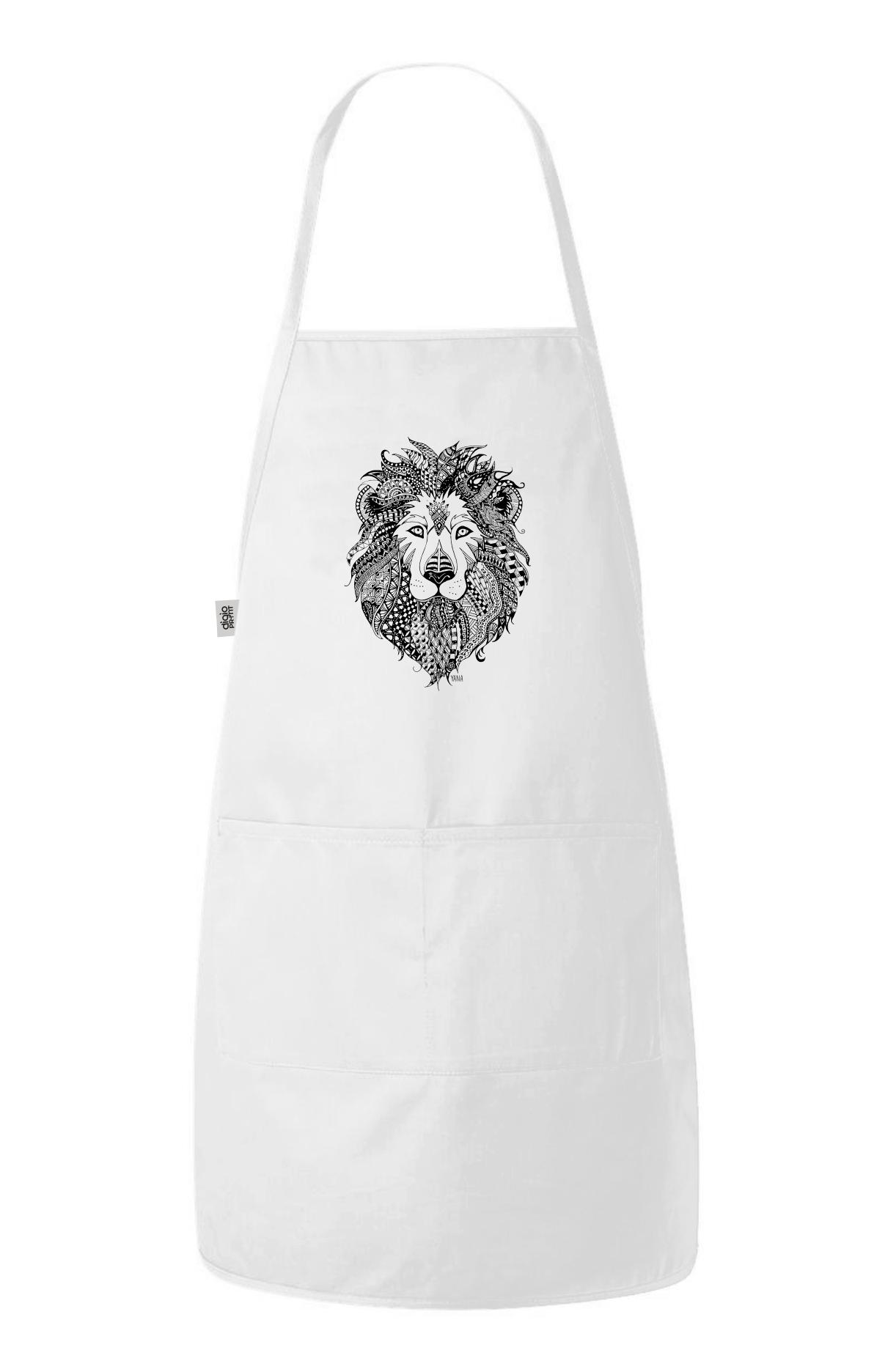 Yana lion apron